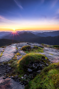 Summit Sunrise from Mount Marcy, NY