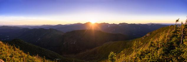 Nippletop Mt. Sunset 10 X 30