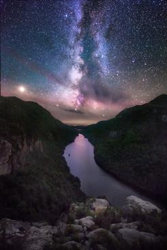 Milky Way Over Indian Head