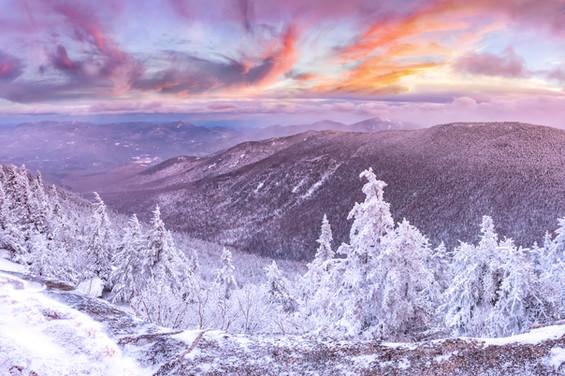 Sunrise from Cascade Mountain, NY