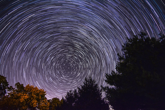Star rotation overnight - Adirondacks