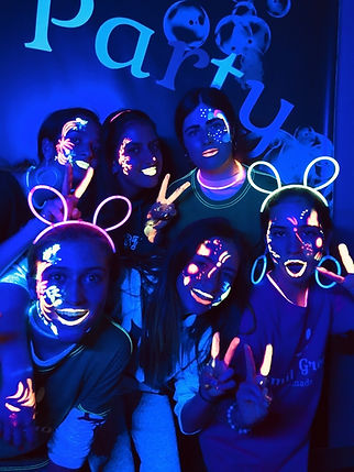 Smile Group Glow in the Dark Party
