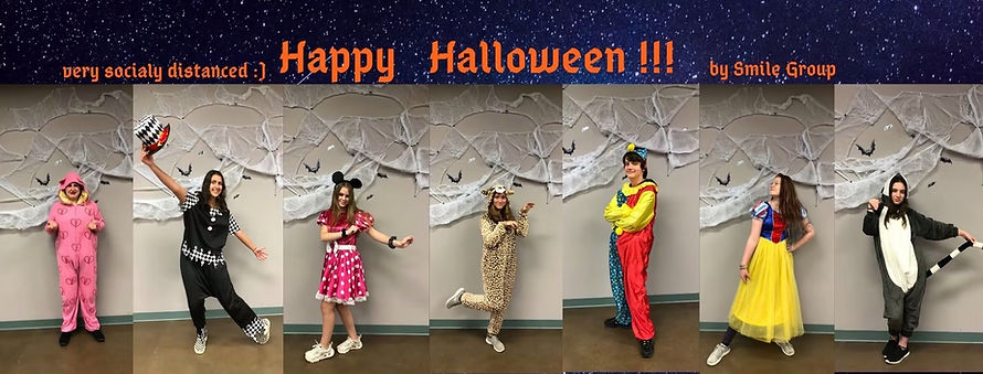 Smile Group Halloween Party
