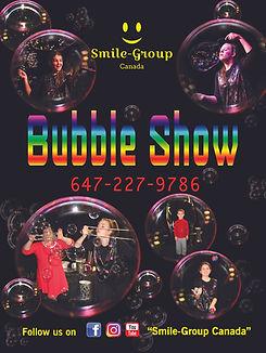 Smile Group Bubble Show