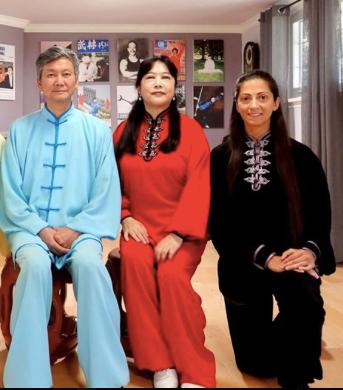 Master Simon Hu & Master Helen Wu