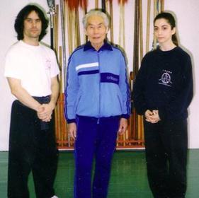 Master Xu Gong Wei & Sifu Julien Valiquette 1995