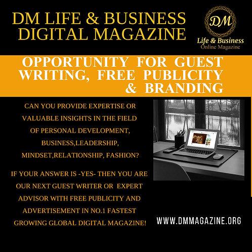 Publicity & Branding VIP Package