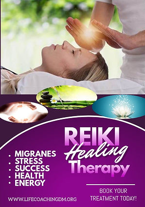 Copy of Reike Healing Poster - Made with
