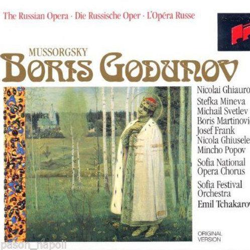 M.Mussorgsky: opera Boris Godunov