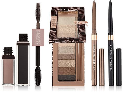Custom Eye Enhancing Kit with Eyeshadow, Eyeliner & Mascara, Nude