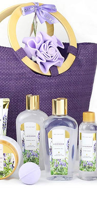 Spa Luxetique Spa Gift Baskets for Women, Lavender