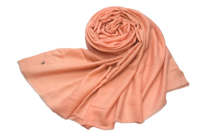 100% handgewebter Kaschmir - Pashmina lachs