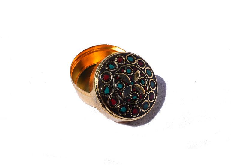 Handmade Indian Jewelry Box - small