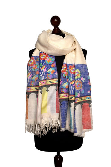 Hand Woven Kani 100% Cashmere - Pashmina  - Pashmina