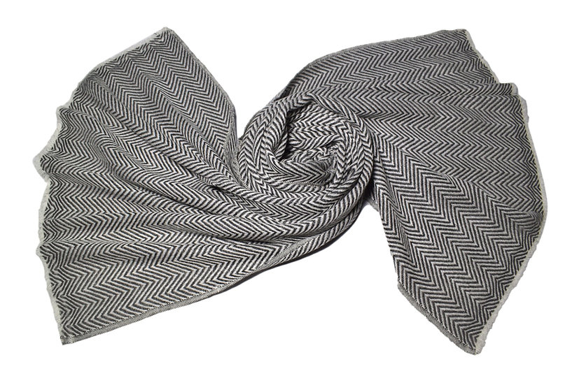 Handwoven Yak Wool Scarf XXL for Women & Men
