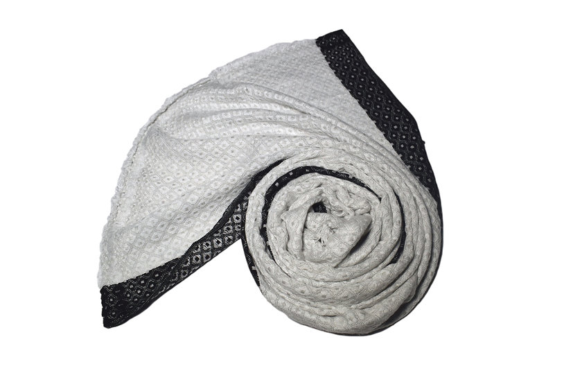 B GRADE! Handwoven Yak Wool Stole XXL for Women & Men