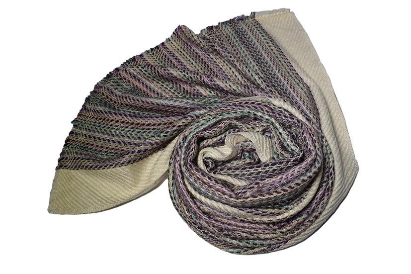 Handwoven Yak Wool Scarf XXL for Women & Men
