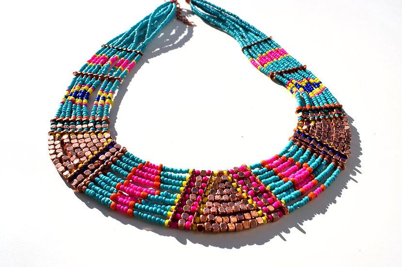 Handgemachtes indisches Perle-Collier