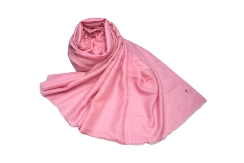 100% handgewebter Kaschmir - Pashmina rosa