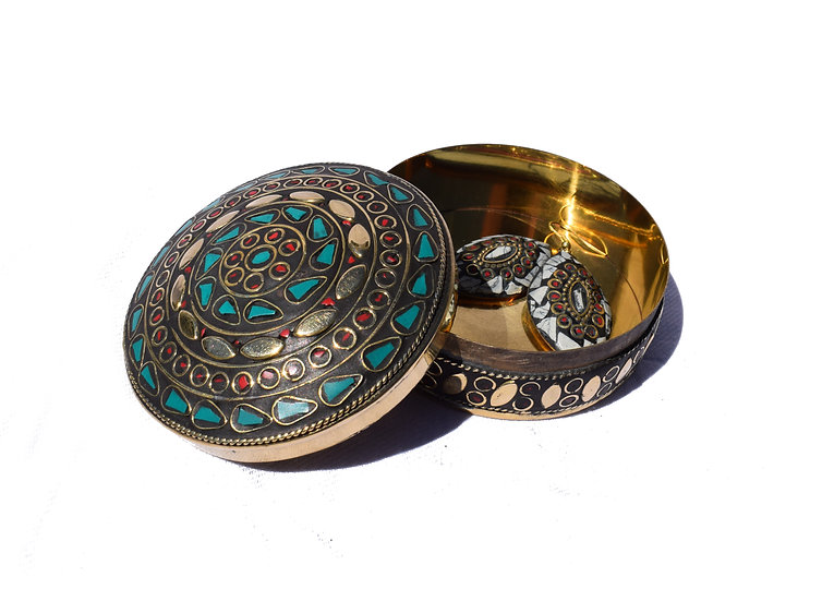 Handmade Indian Jewelry Box - large