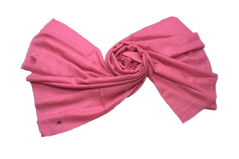 100% handgewebter Kaschmir - Pashmina pink