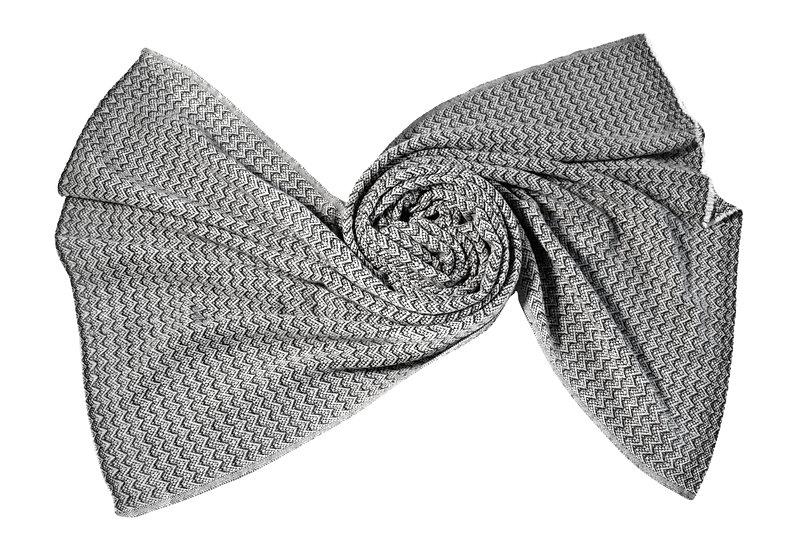 Hand-woven Yak Wool Stole XXL Unisex