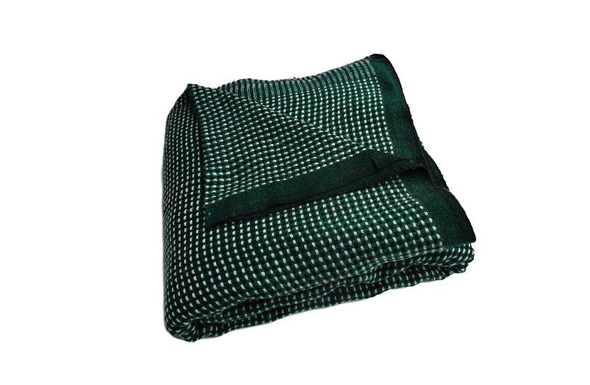 Handgewebte, kuschelige Yakwolle Decke