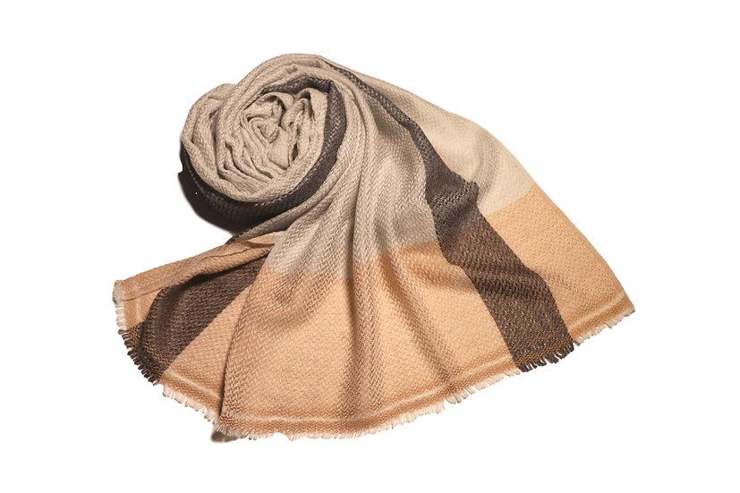 Handgewebter Yak Wolle Schal für Damen, Herren