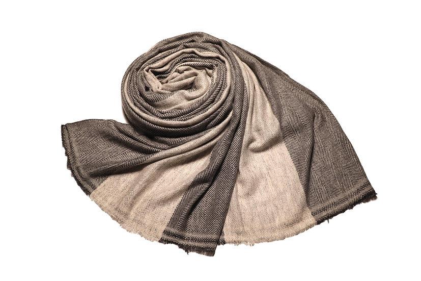 Handwoven Yak Wool Scarf - Unisex