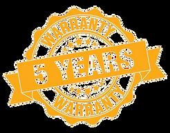 816-8166587_warranty-5-year-warranty-png