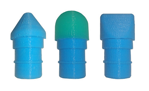 3 Silicone Tips for Quiet Massager or Hypervolt