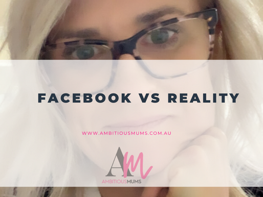 Facebook VS Reality