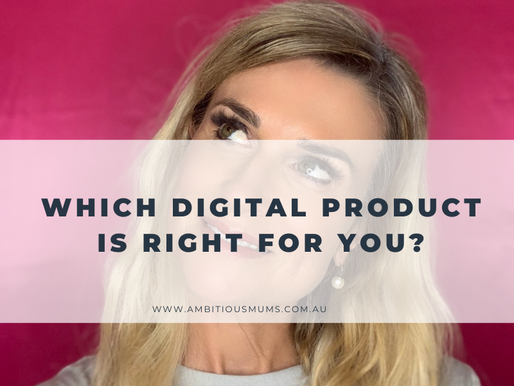 Which Digital Product is right for you?