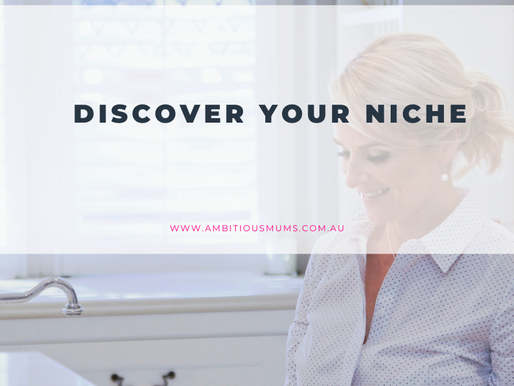 Discover your Niche