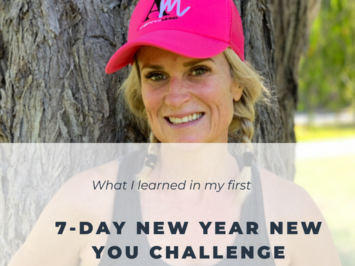 What I learned in my first 7-day Challenge!