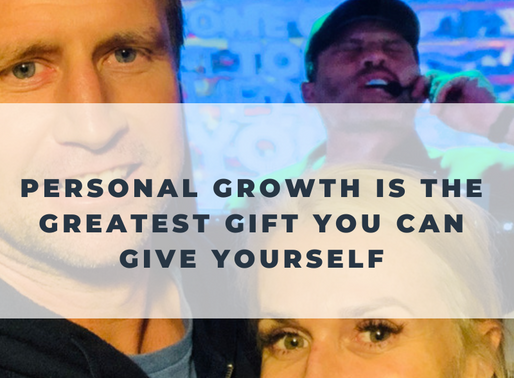 Personal Growth is the greatest Gift you can give Yourself