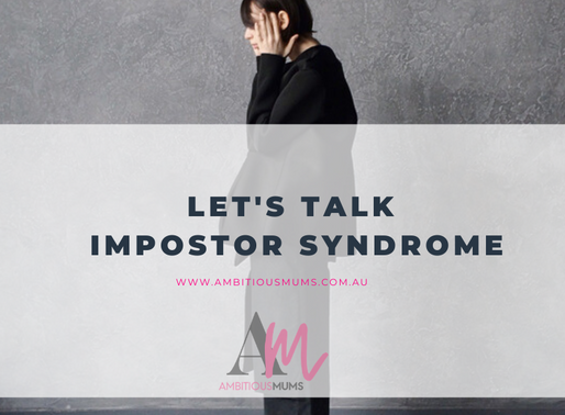 Let's talk Impostor Syndrome