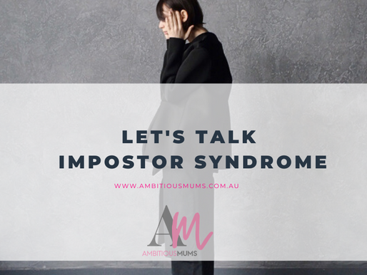 Let's talk Impostor Syndrome