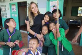 Voluntariado na Tailândia!