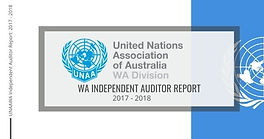 WA Independent Auditor's Report 2017-2018