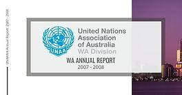 WA Annual Report 2007-2008