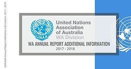 WA Annual Report 2017-2018 Additional Information