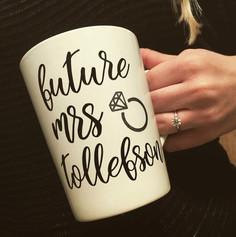One of a kind custom mug.