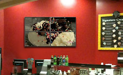 Videowall at Cold Stone Creamery
