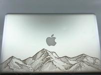 Laser engraved MacBook Pro