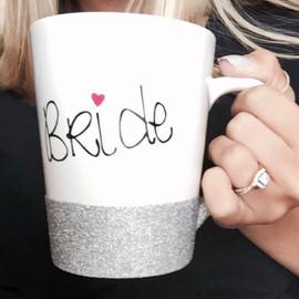 The bride's mug.