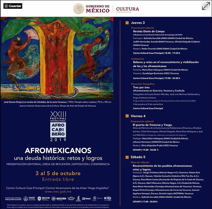 """""""Afromexicanos, una deuda histórica: retos y logros""""."""