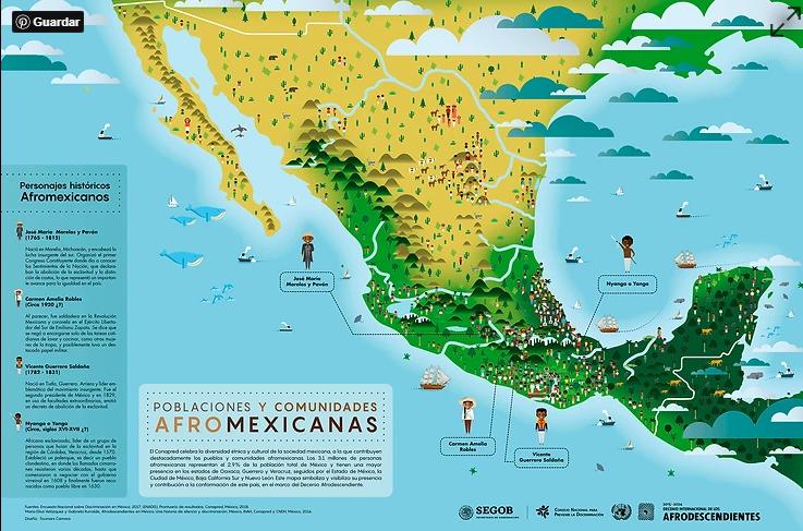 El CONAPRED reconoce a las afromexicanas y afromexicanos como grupos en situación de #discriminación