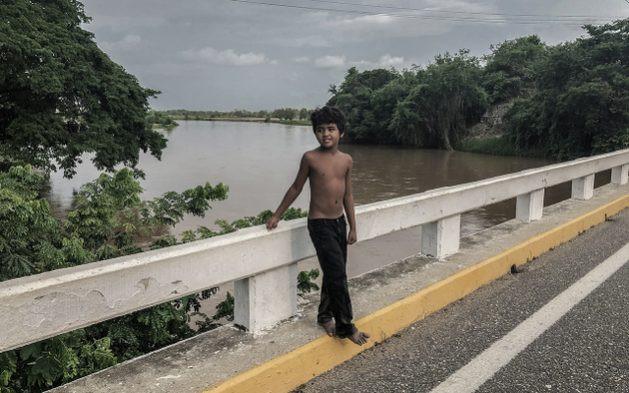 Un niño afroindígena mexicano. Foto: Kau Sirenio