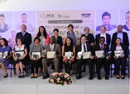 Reconoce CDMX a organizaciones que luchan contra el racismo.